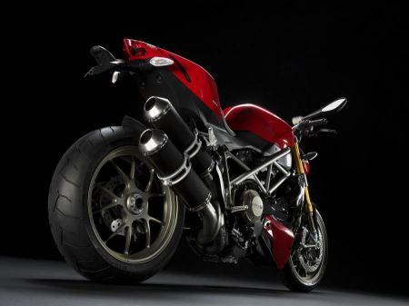 Free Ducati Streetfighter Red Rear