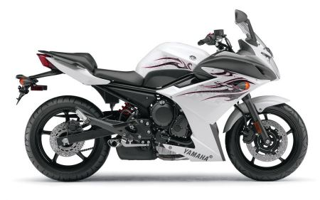 Free Yamaha FZ6R White
