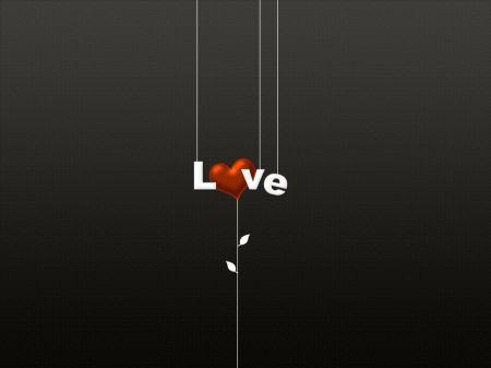 Free Love Heart Hanging
