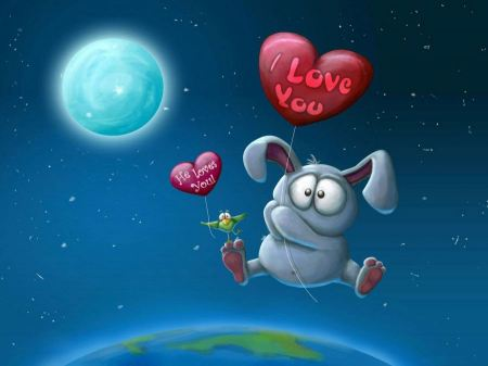 Free I Love You Balloon