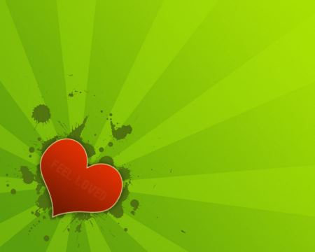 Free Vector Styled Heart