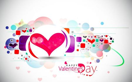 Free Happy Valentines Day Vector Art
