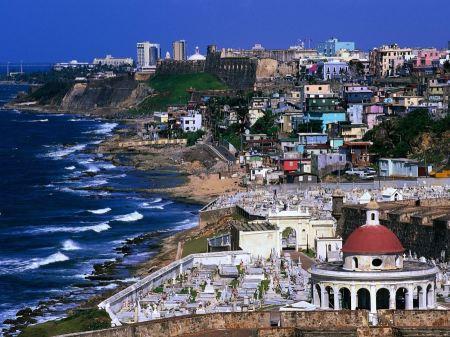 Free El Fuerte de San Cristobal San Juan Puerto Rico Shoreline