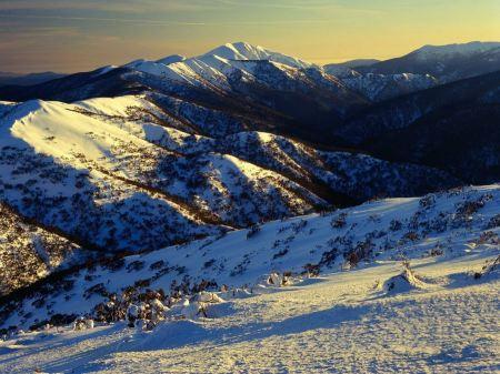 Free Sunrise on Mount Featherto Australia
