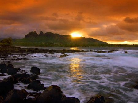 Free Island Seascape Hawaii